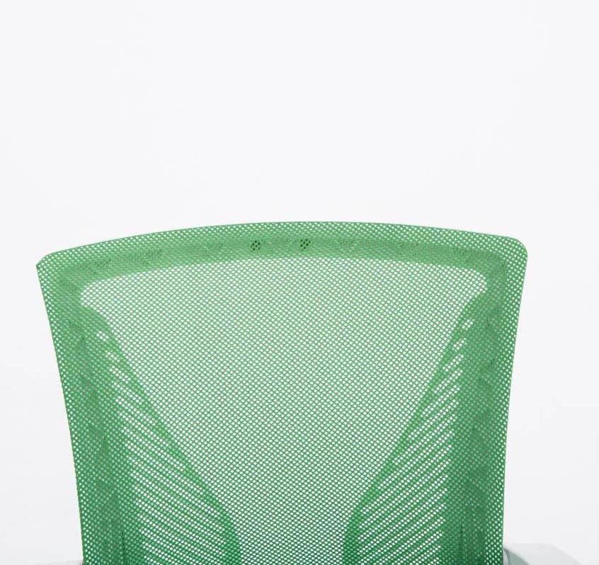 Sedia da ufficio cuba schienale traspirante design for Ufficio verde