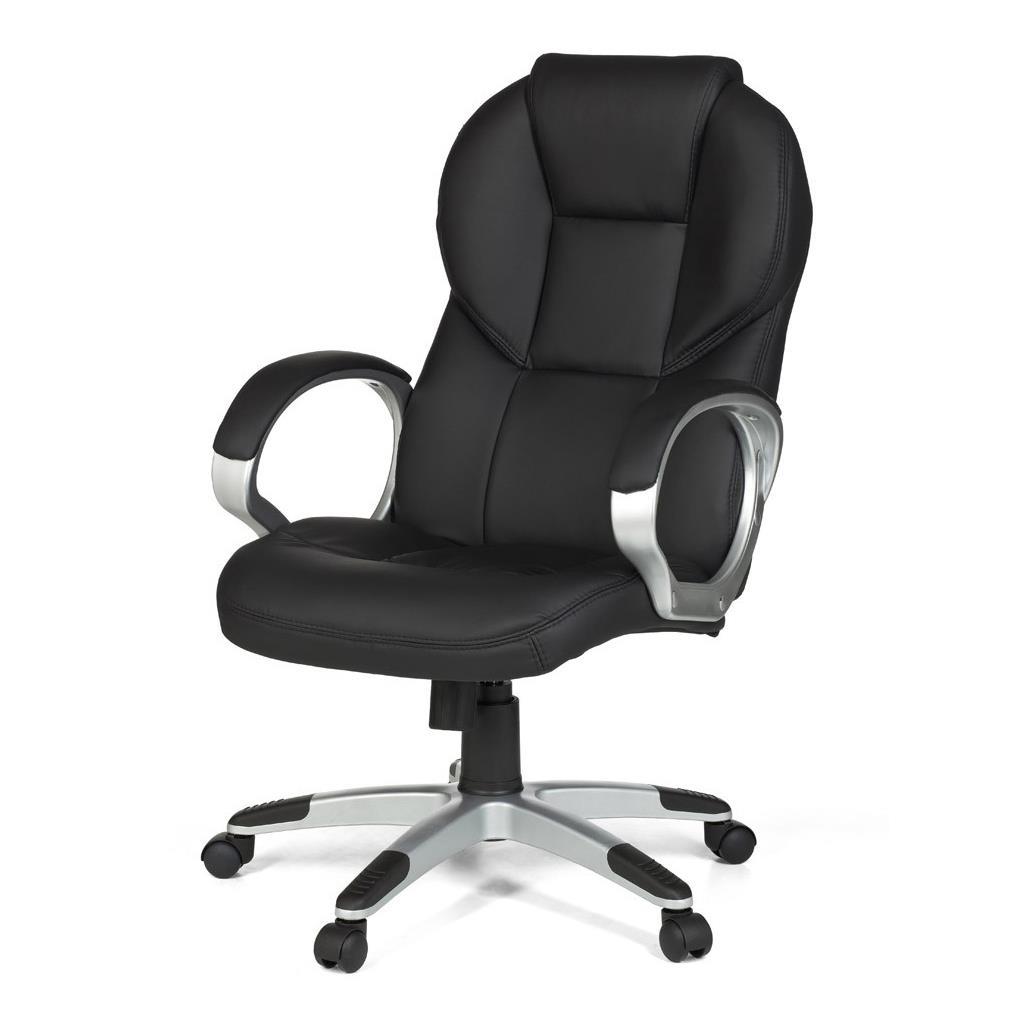 Poltrona da ufficio fabian comoda imbottitura schienale for Poltrone design da ufficio