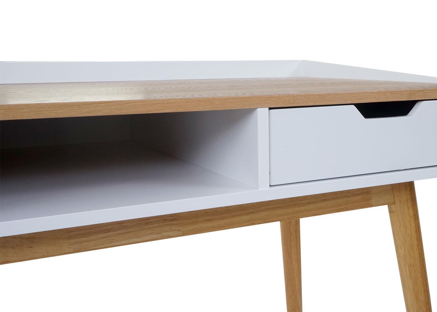 Scrivania In Legno Chiaro : Scrivania per computer in legno josu cm sediadaufficio