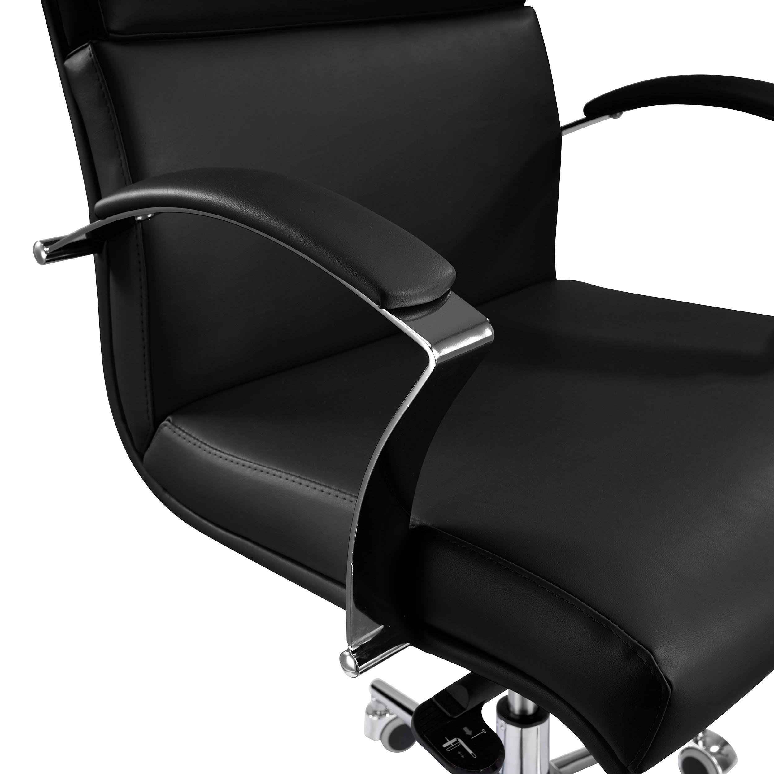 Sedia da ufficio rabat schienale basso qualit e design for Sedia design nera