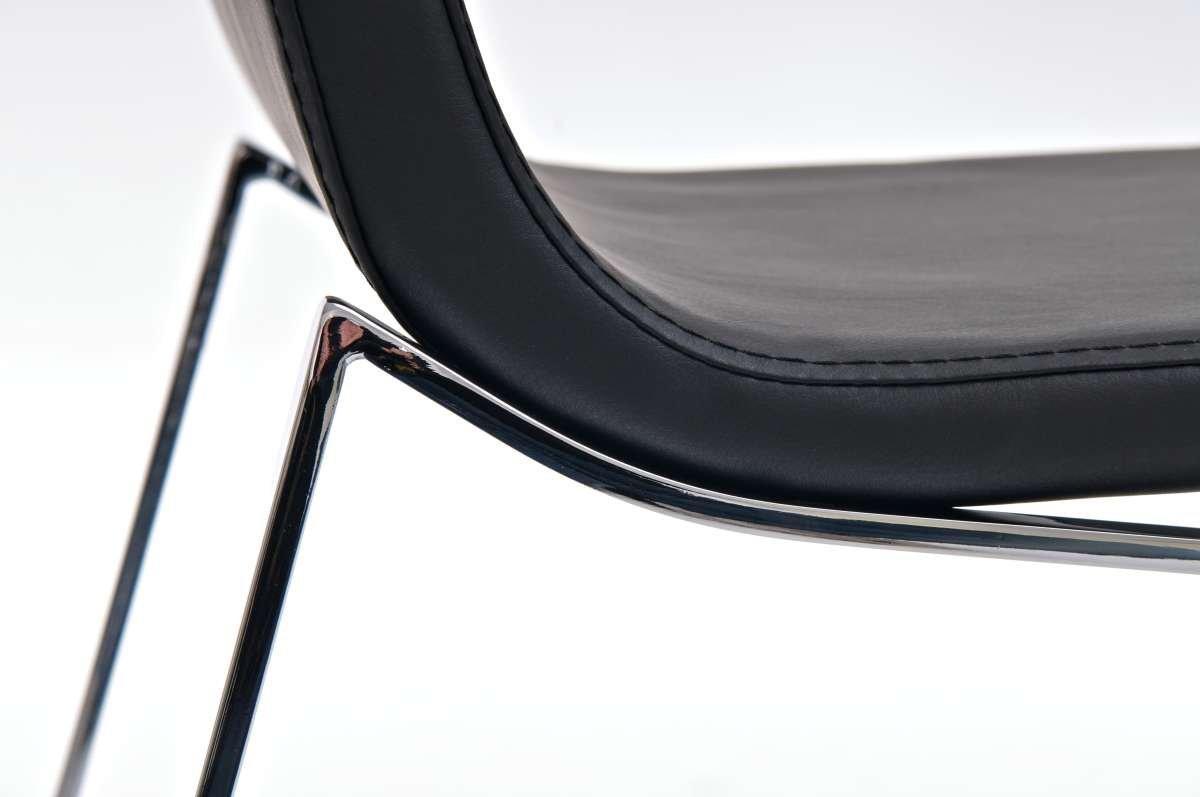 Sedia per sala attesa riunioni villanova design lineare in