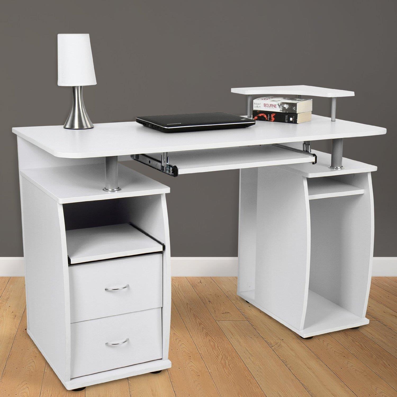 scrivanier per computer makalu supporto per pc e ripiano
