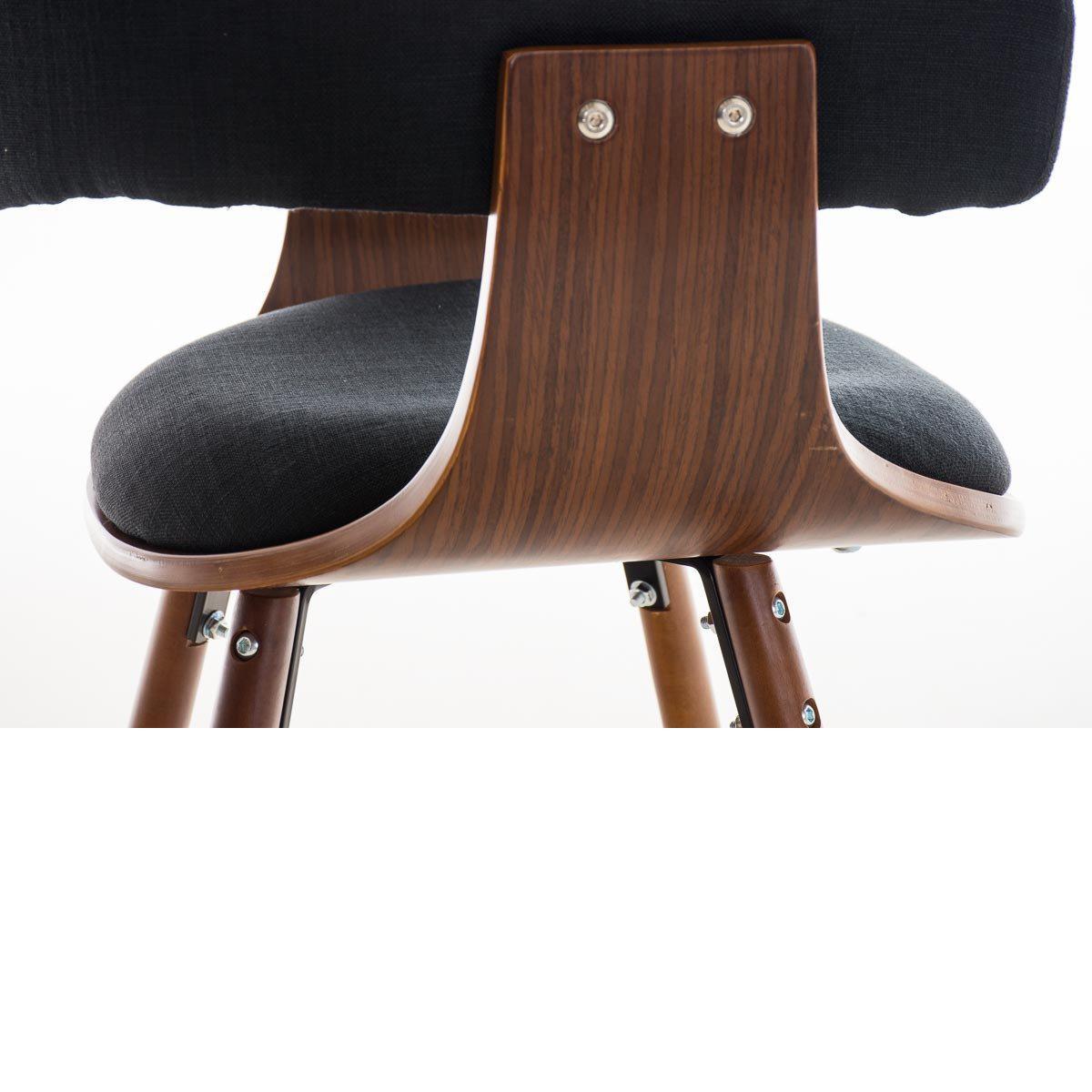 Sedia per ospiti barry lux gambe scure design all - Sedia legno design ...