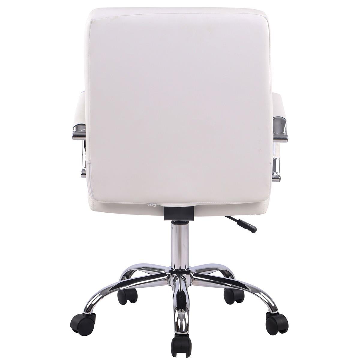 Poltrona Ufficio Bianco : Poltrona da ufficio delan in pelle in color bianco poltrona da