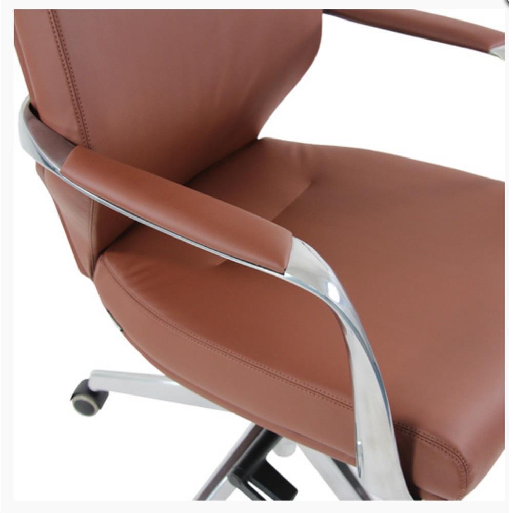Sedia di design violet braccioli e base in acciaio in for Sedia design marrone