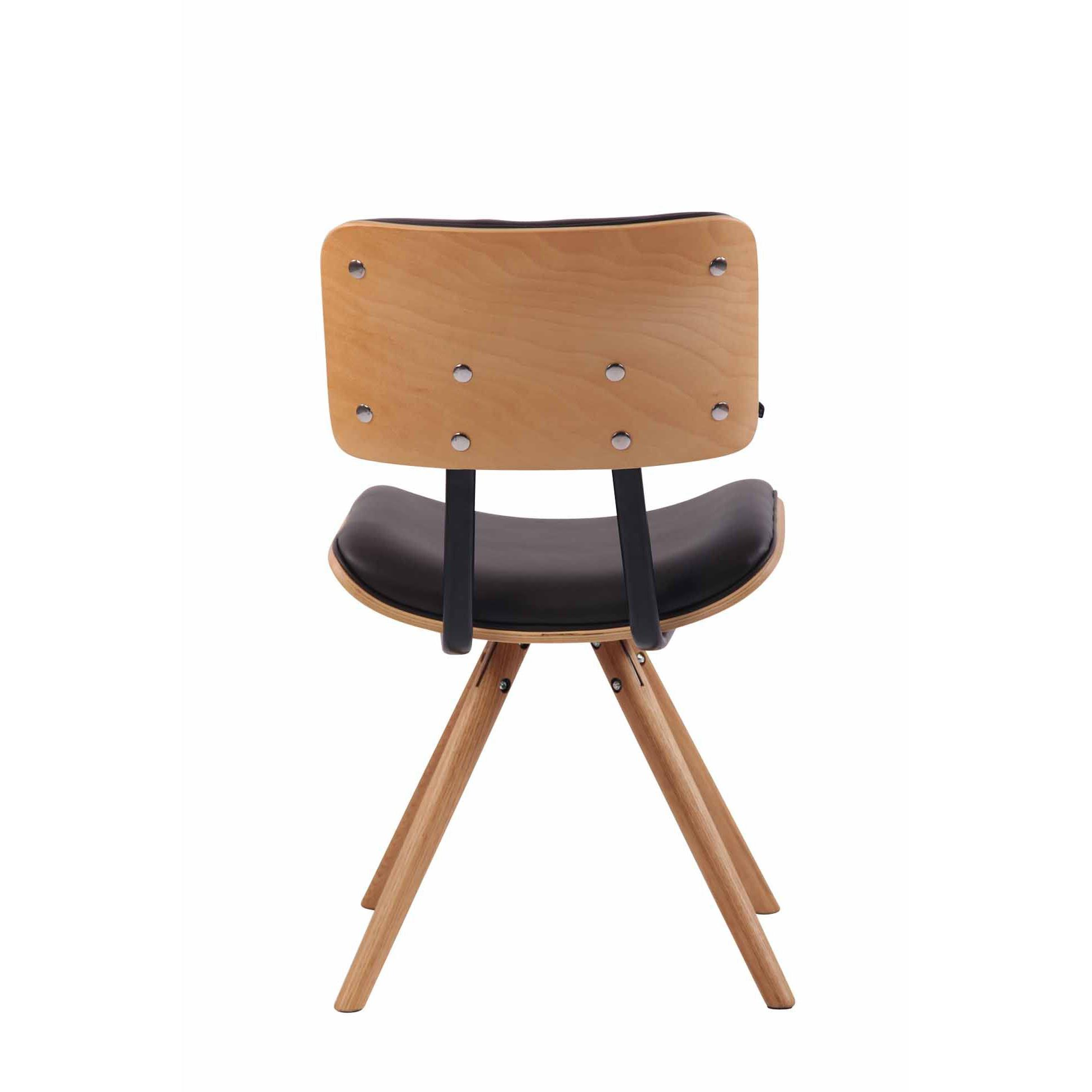 Sedia per Ospiti vintage BAHIA, struttura in legno faggio ...