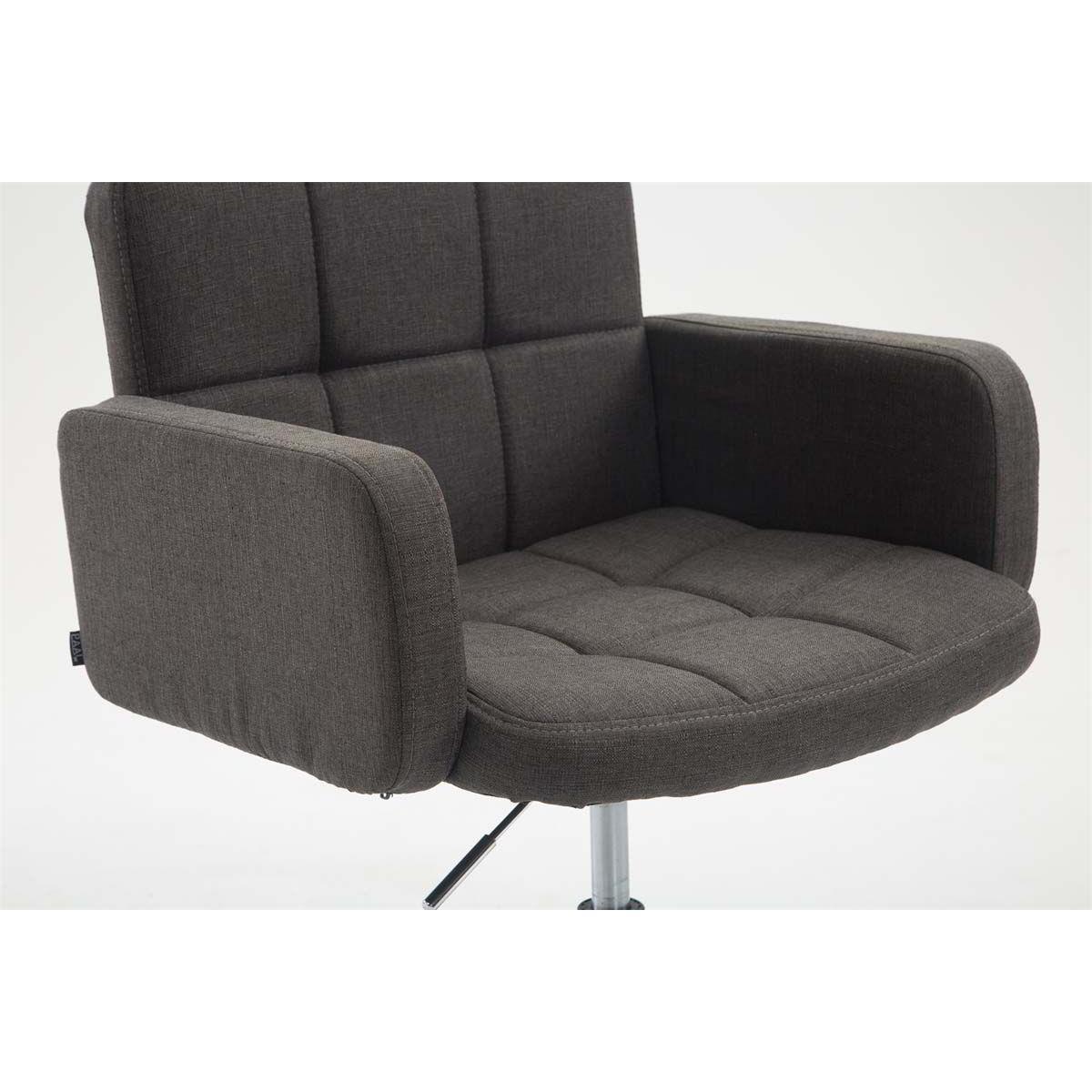 Sedia di design nadir comoda imbottitura girevole in for Sedie design tessuto