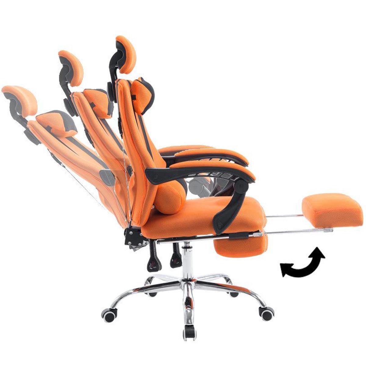 Poltrona Ufficio Arancione.Poltrona Gaming Antares Reclinabile In Varie Posizioni