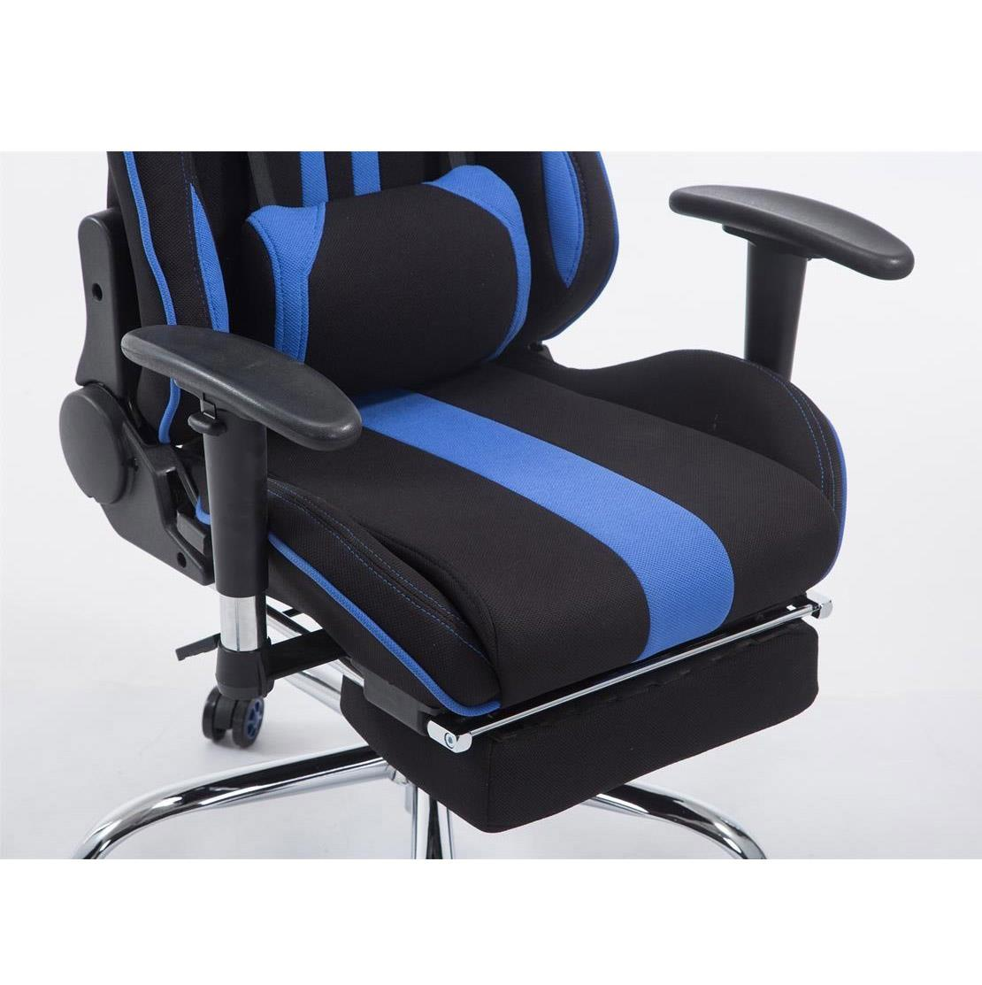 Poltrona Gaming LOGAN con poggiapiedi, ampia reclinazione, con ...