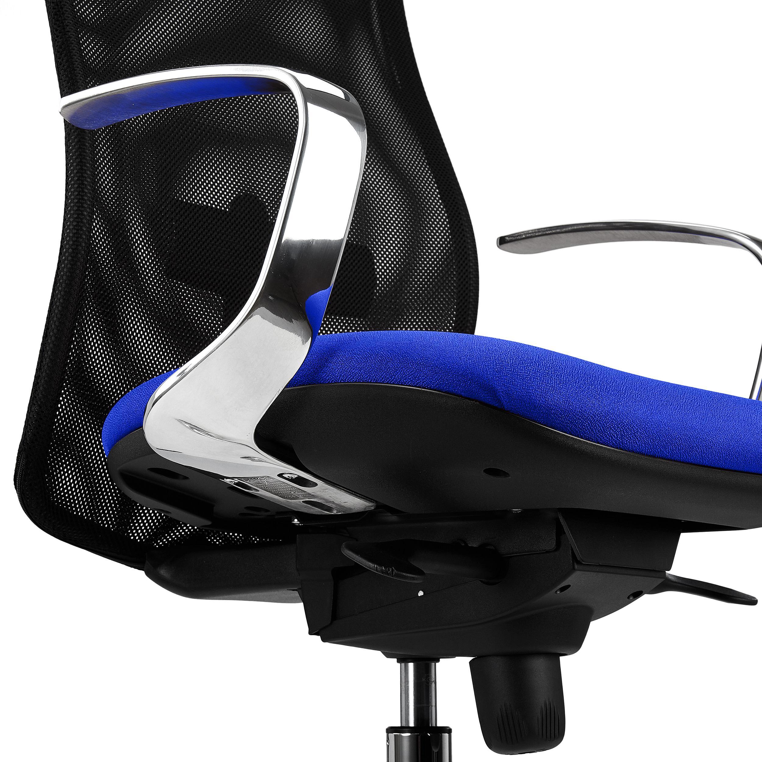 Sedia da Ufficio YEDA, Schienale Alto, Design Esclusivo ...