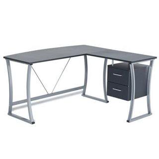 Best scrivania da ufficio etel ampia e con cassetti forma for Scrivanie economiche on line