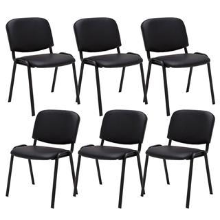Sedia per sala conferenze MOBY IN PELLE, economica e pratica, prezzo ...