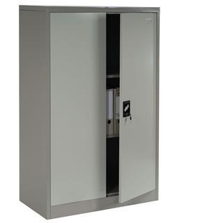 Armadio Metallico Per Ufficio.Armadio Metallico Per Ufficio Edit 2 Ante Cm 140x80x40 Ampio