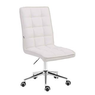 Sedia per Ufficio FISAR, Spessa Imbottitura, in Pelle color Sedia per Ufficio FIRAS, Altezza Regolabile,
